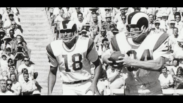 Les Josephson on the run for the Rams.